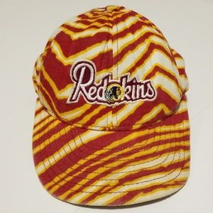 Vintage Zubaz 80s/90s Washington Redskins NFL Hat